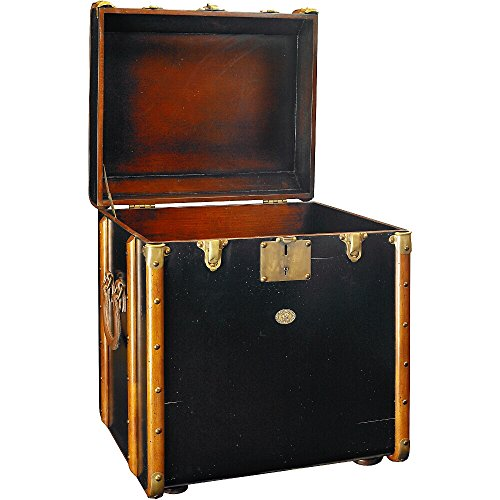 Authentic Models Stateroom Trunk End Table