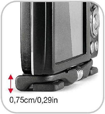 Manfrotto Mp1 Bk Pocket Tischstativ Größe S Schwarz Kamera