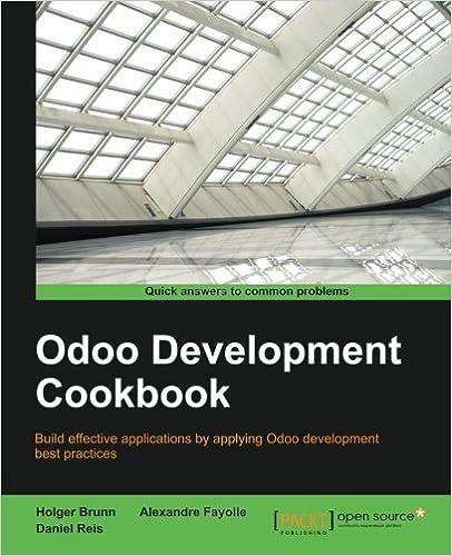 Last ned bøker i fb2 Odoo Development Cookbook ePub 178588364X