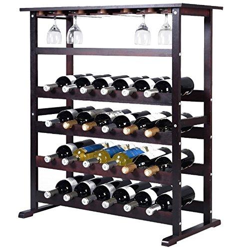 wine rack shelving unit - 5