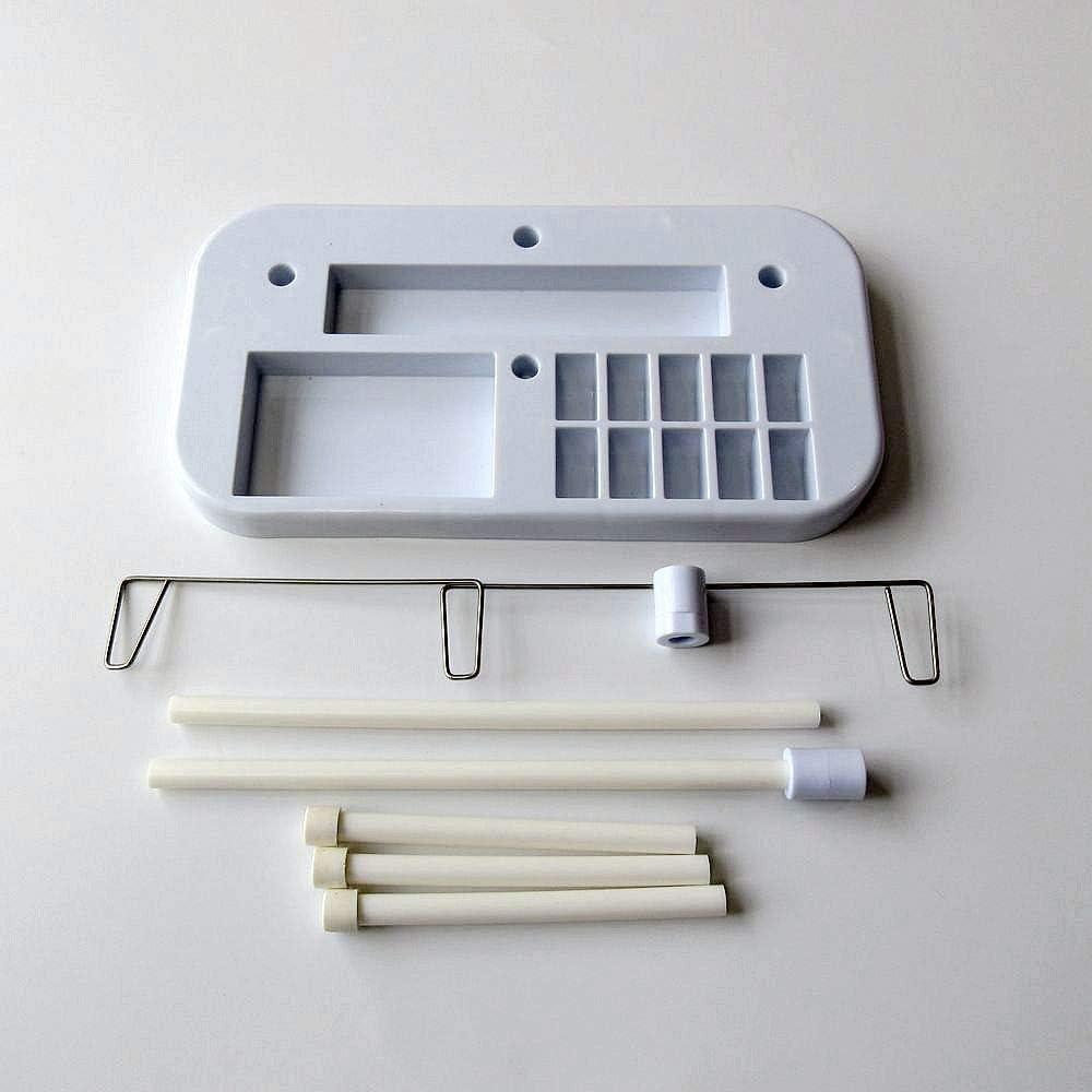 Soporte para bobinas de hilo de 3 bobinas para máquina de coser ...