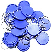 50Piece/lot Em4305 Rewritable 125Khz Rfid ID Tag Token Keyfobs Ring