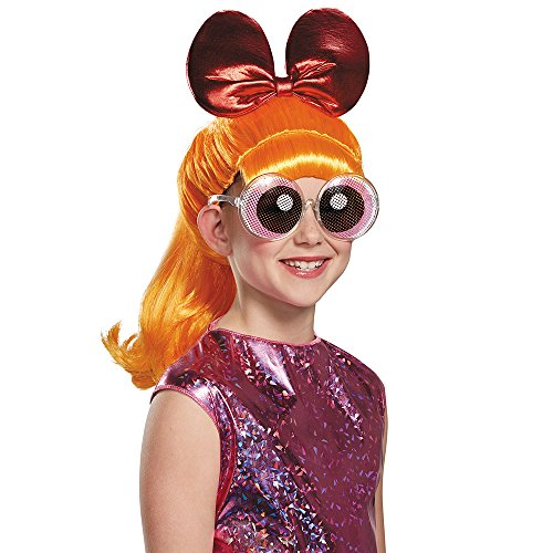 [Disguise Blossom Powerpuff Girls Cartoon Network Wig, One Size Child, One Color] (The Powerpuff Girls Costumes)