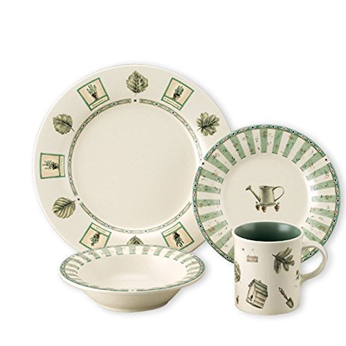 Pfaltzgraff Naturewood 16-Piece Stoneware Dinnerware Set (Service for 4)