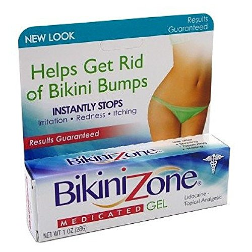 CCA Industries Bikini Zone Medicated Gel, 1 Ounce