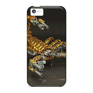 EthaleraSandywhichz LMF9300TPTd Cases Covers Iphone 5c Protective Cases 3d Scorpion