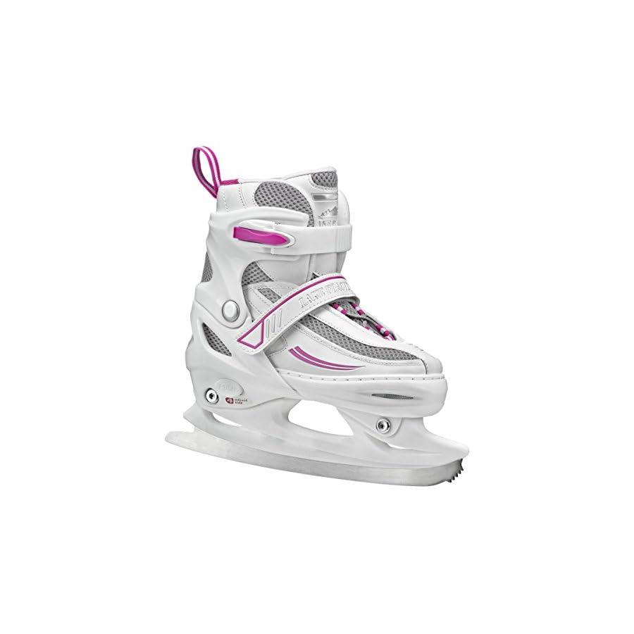 Lake Placid Summit Girls Adjustable Ice Skate