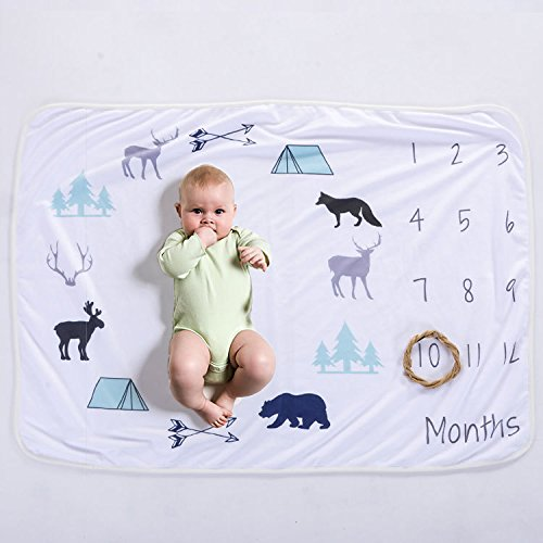 XNX Baby Milestone Blanket Newborn