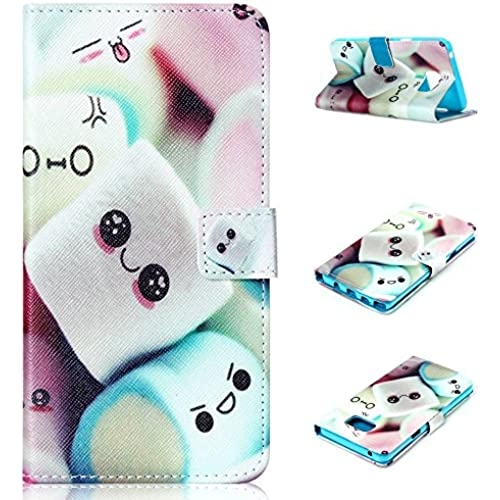 Samsung Galaxy S7 edge Case, E-fashion [Wallet Case] Cute candy PU Leather Flip Case Cover [Card Slot][Magnetic Closure] For Samsung Galaxy S7 edge Sales