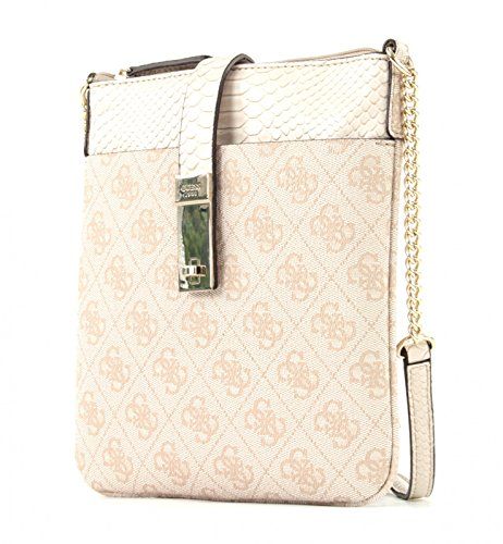 GUESS Nissana Mini Crossbody Top Zip Stone