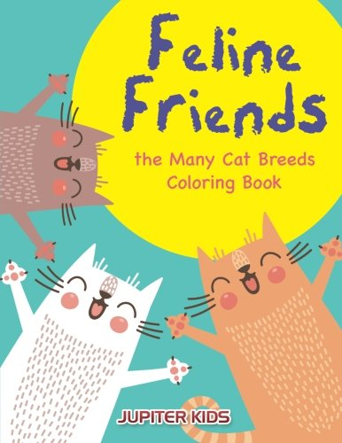Feline Friends Many Breeds Coloring