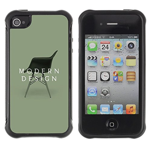 Apple Iphone 4 / 4S - Design Interior Chair Art