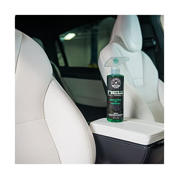 Chemical Guys AIR300 New Car Scent And Leather Scent Combo Pack 16 Oz 2 Items