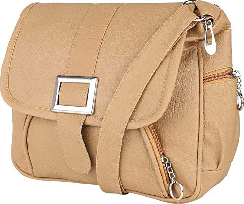 SAHAL Leatherette PU Tassel Cross Sling bag for Women and Girls College Office Bag, Stylish latest Designer Spacious Cross Body Bag Purse with Sling Belt. Gift for Her