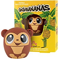 My Audio Pet Mini Bluetooth Animal Wireless Speaker with TRUE WIRELESS STEREO TECHNOLOGY – Pair with another TWS Pet for Powerful Rich Room-filling Sound – (GoGo Bananas)