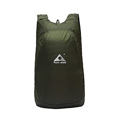 Play-king leisure folding portable waterproof backpack skin package bag  outdoor shoulder storage men and 0adae3406b516