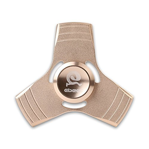 Tri-Spinner Fidget Toy with Ultra Fast Bearing, Premium Quality Hand Spinner, Helps Focusing, Stress Reducer, Relieves Anxiety, for Kids and Adults (Tri Fidget Hand Spinner Ultra Fast Bearings)