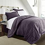 Simply Soft Ultra Soft Bed in a Bag, California King, Purple