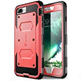 iPhone 7 Plus Case, [Armorbox] i-Blason Built in [Screen Protector] [Full Body] [Heavy Duty Protection ] Shock Reduction/Bumper Case for Apple iPhone 7 Plus (Pink)
