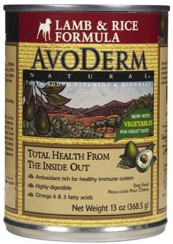 Avoderm Natural Dog Food - Lamb & Rice - 12X13 Oz