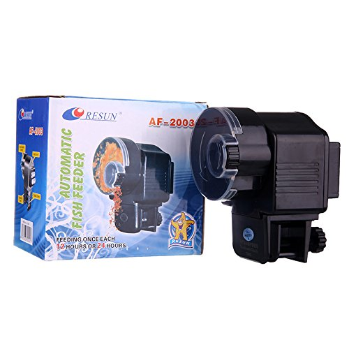 WHATWEARS LCD Automatic Aquarium Tank Pond Fish Food Feeder Timer by WHATWEARS (Image #3)