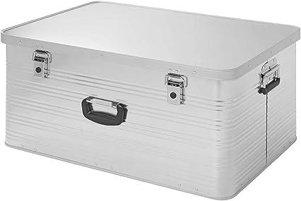 APT Caja de Aluminio, contenedor de Transporte, Caja de Aluminio, tamaño: 137 L, 1,0 mm de Grosor: Amazon.es: Coche y moto