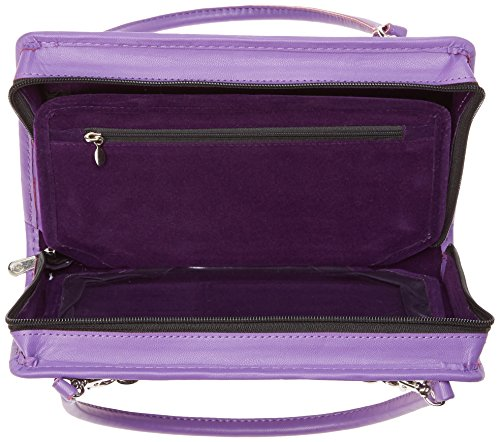 Knitter's Pride Thames Faux Leather Bag, Purple by Knitter's Pride (Image #6)