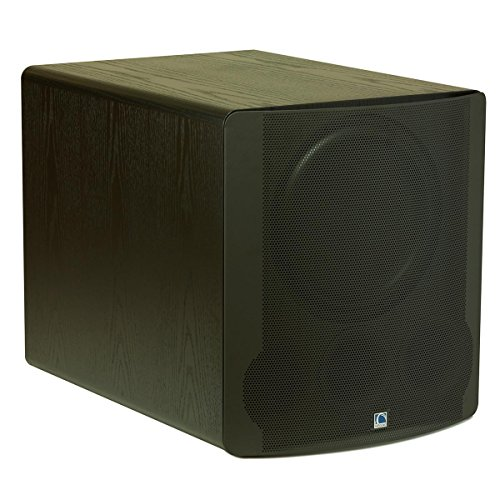 SVS PB13-Ultra 1000 Watt DSP Controlled 13.5'' Ported Cabinet Subwoofer (Black Oak Veneer) by SVS