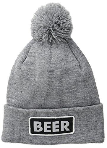 Coal Men's Vice Beer Beanie, Heather Grey (Beer), One Size