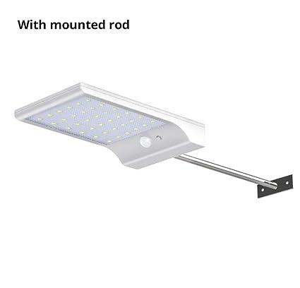 Hycy Sensor De Movimiento LED Lámpara De Pared Energía Solar Luz De Noche Al Aire Libre