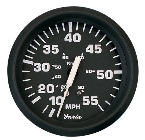 Faria Speedometer - Faria 32810 Euro 55 MPH Speedometer