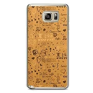 Tea Time Samsung Note 5 Transparent Edge Case - Design 5
