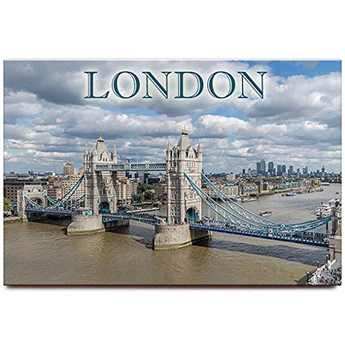 - Tower Bridge fridge magnet London travel souvenir