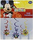 6 serpentins de décoration Disney Mickey Mouse
