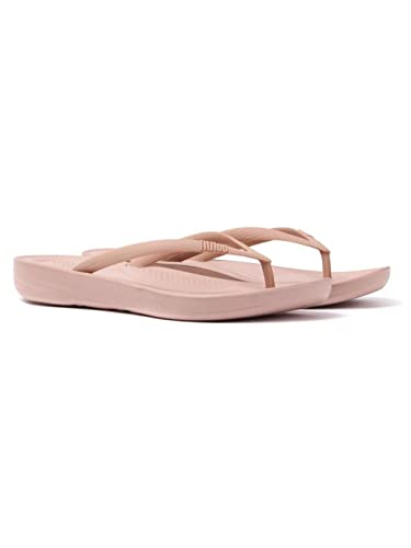 0406ff27952 Fitflop Womens IQUSHION Ergonomic FLIP-Flops Nude Flip Flops  Amazon.co.uk   Shoes   Bags