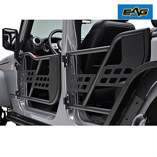 eag 07 18 jeep wrangler jk safari tubular doors with mirror 4 door only buy online in uae. Black Bedroom Furniture Sets. Home Design Ideas