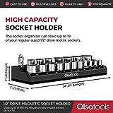 Magnetic Socket Organizer by Olsa Tools