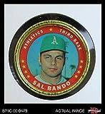 1971 Topps Coins # 132 Sal Bando Oakland Athletics (Baseball Card) Dean's Cards 4 - VG/EX Athletics