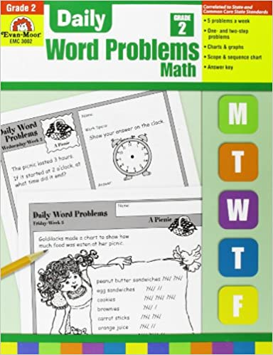 Amazon.com: Daily Word Problems, Grade 2 (9781557998149): Evan ...