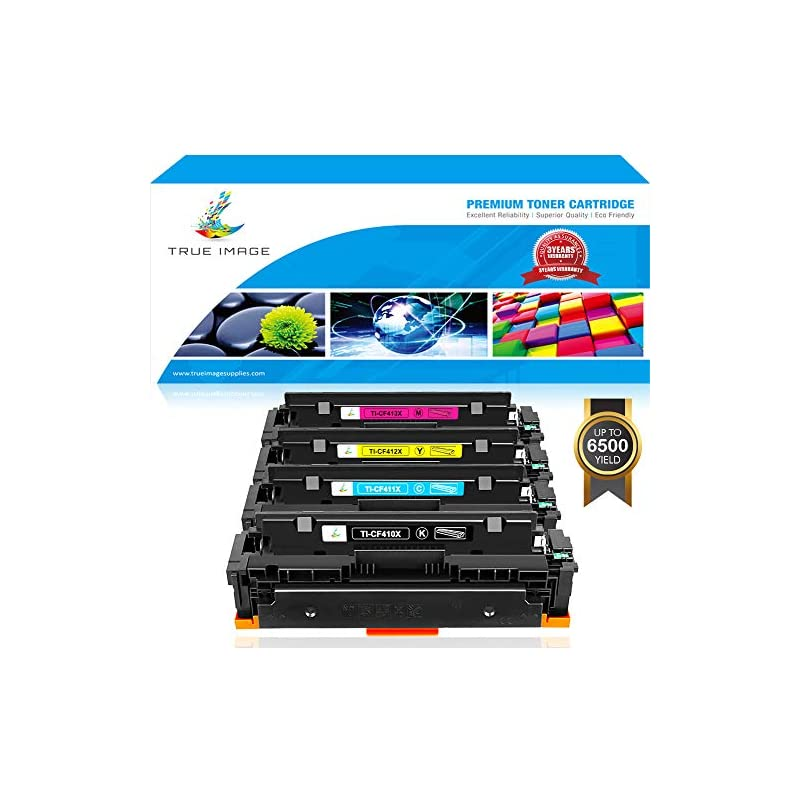 True Image 4 Packs Compatible for HP 410