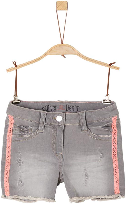 Shorts mit Neon-Details s.Oliver RED Label Junior M/ädchen Skinny Suri