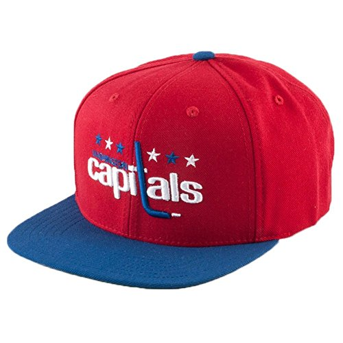 (American Needle Washington Capitals Replica Wool Adjustable Hat Red)