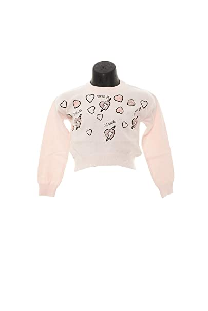 Silvian Heach Maglia Bambina con paillettes-Rosa-3A  Amazon.it   Abbigliamento 31e19d50d99