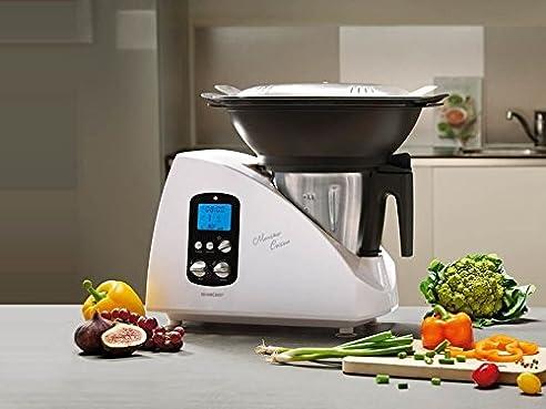 SILVERCREST Küchenmaschine Monsieur Cuisine SKMH 1100 A1: Amazon ...