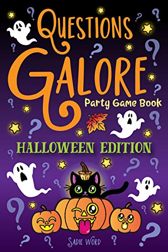 Party Bazaar Halloween Costumes (Questions Galore Party Game Book: Halloween Edition: Spooky Silly Scenarios, Scary Would You Rather Choices, and Funny Pumpkin Spice Dilemmas - Terrifyingly Wild Fun for Kids and)