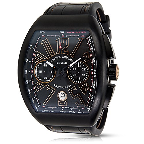 Franck-Muller-Vanguard-Chrono-swiss-automatic-mens-Watch-V45-CC-DT-Carbon-Certified-Pre-owned