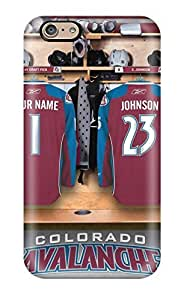 DanRobertse Case Cover For Iphone 6 - Retailer Packaging Colorado Avalanche (29) Protective Case