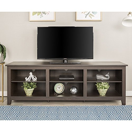New 70 Inch Wide Espresso Brown Television Stand