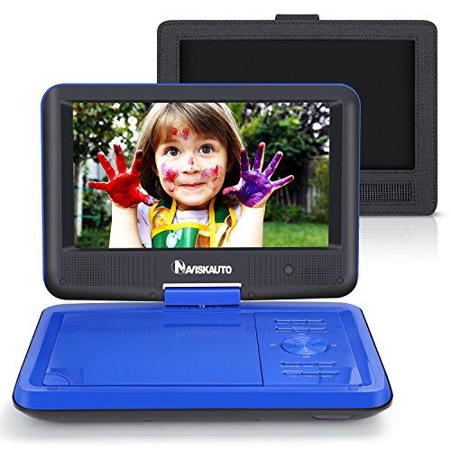 NAVISKAUTO 9 Inch Portable DVD/CD Player USB/SD Card Reader