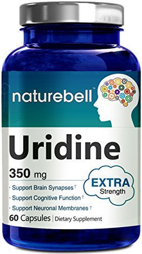 Uridine Monophosphate (Choline Enhancer) 350mg - 60 Capsules- Made in USA